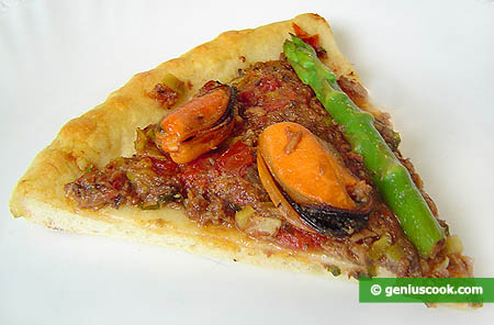 "Piece of Pizza ""Elena"""