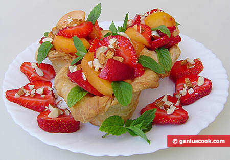 Fruit Puff Pastry Tartlets