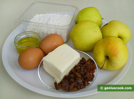Ingredients for Apple Strudel
