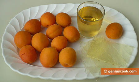 Ingredients for Apricot Jelly