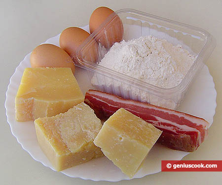 Ingredients for Neapolitan Buns