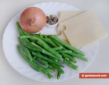Ingredients for Cheese Soup with Yardlong Beans