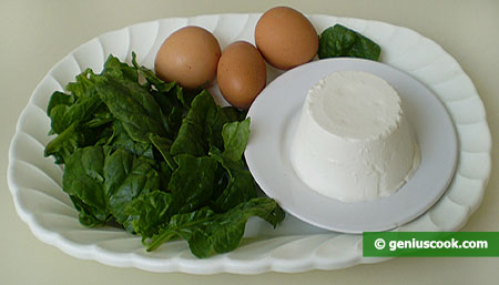 Ingredients for Gnoccetti with Ricotta And Spinach