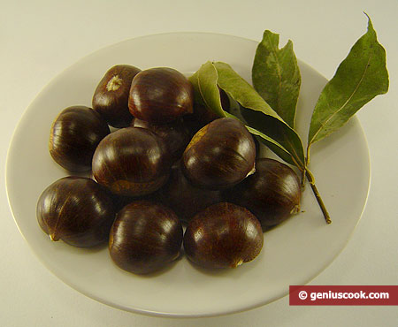 Ingridients for Boiled Chestnuts