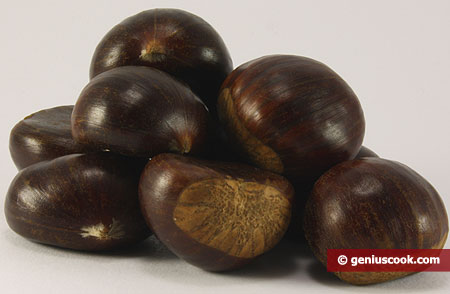 Ingridients for Fried Chestnuts