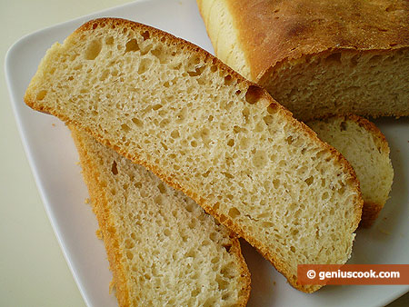 Cut Bread with Semolina