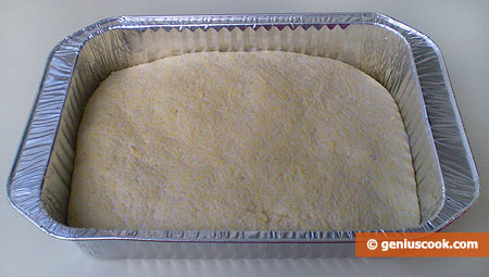 Dough in Loaf Pan