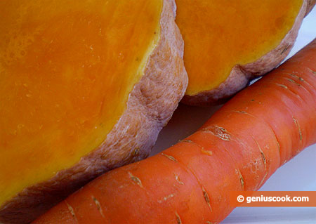 Pumpkins and Carrots Are Rich with Carotin
