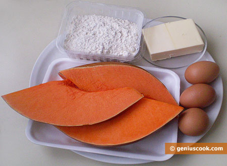 Ingredients for Pumpkin Puffs