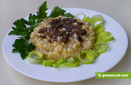 Risotto with Black Truffles