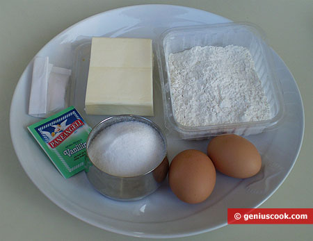 Ingredients for Homemade Shortcakes