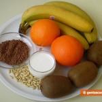 Ingredients for Brazil Fruit Salad