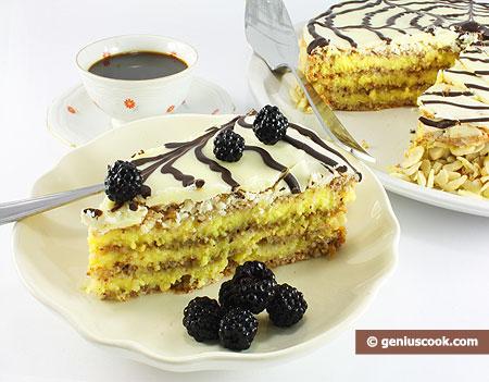 Cut Esterhazy Cake