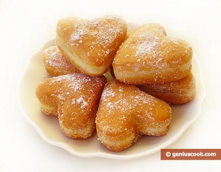 Heart-Shaped Doughnuts