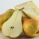 Ingredients for Carpaccio with Pears and Parmesan