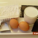 Ingredients for Doughnuts with Chocolate