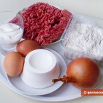 Ingredients for Fried Pies with Meat