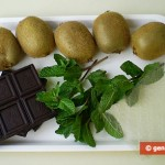 Ingredients for Jelly with Kiwi Fruit and Mint