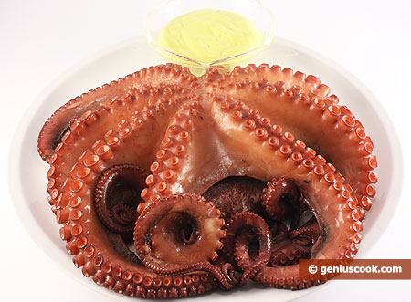 Ingredients for Octopus with Mayo