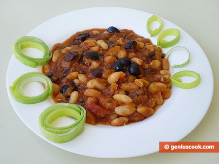 Beans with Olives and Capers
