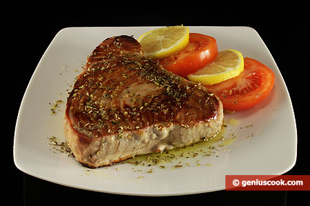 Grilled Tuna Stakes