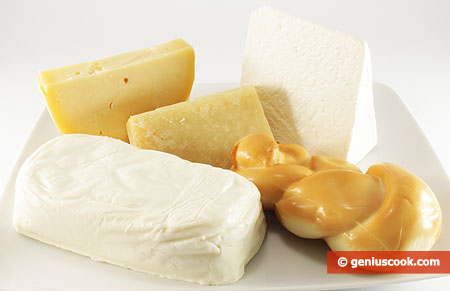 Ingredients for Baked Cheese