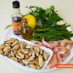 Ingredients for Mediterranean Hot-pot