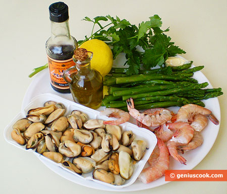 Ingredients for Mediterranean Hot-pot
