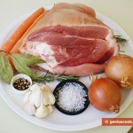 Ingredients for Pork Shank