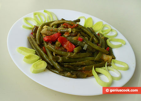 Runner Beans with Vegetables