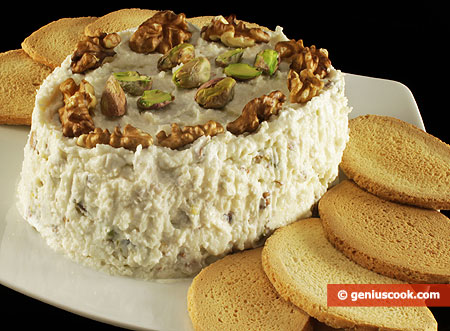 Cheese Paste with Nuts