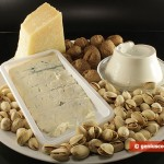 Ingredients for Cheese Paste with Nuts