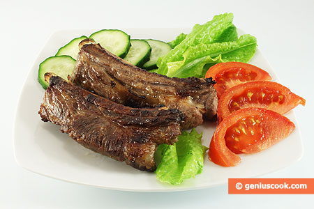 Marinated Pork Ribs Grille