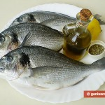 Ingredients for Dorado Baked in Foil with Lemon