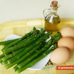 Ingredients for Frittata with Asparagus