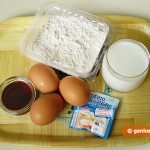 Ingredients for Pancakes American Way