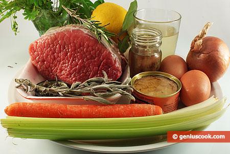 Ingredients for Vitello Tonnato