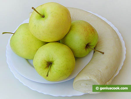 Ingredients for Baked Apples in Puff Pastry