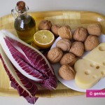 Ingredients for Radichetta Salad with Nuts and Cheese