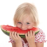 Watermelon is good for children and adults