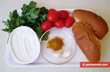 Ingredients for Crostini