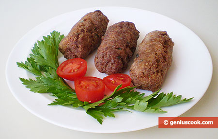 Italian Croquettes with Meat and Potato