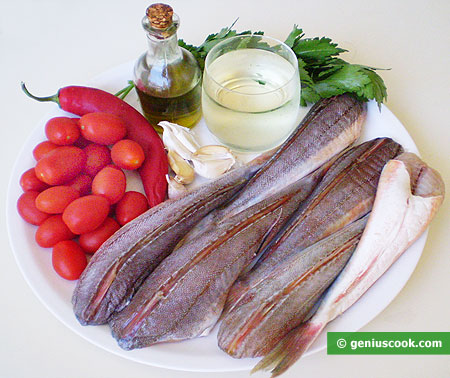 Ingredients for Neapolitan Gurnard