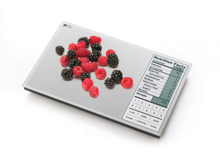 The Perfect Portions Digital Food Scale and Dish Calculator