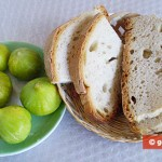 Ingredients for Crostini with White Fig