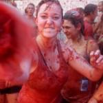 A Tomato Festival in Spain