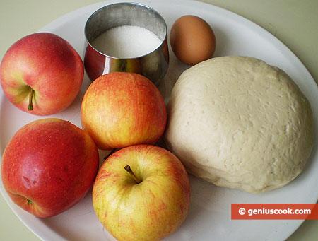 Ingredients for Apple Patties