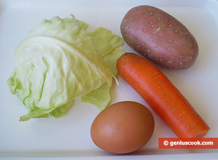 Ingredients for Puree Soup for Children
