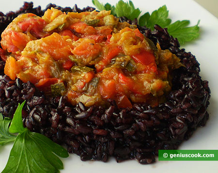 Black Rice with Vegetables