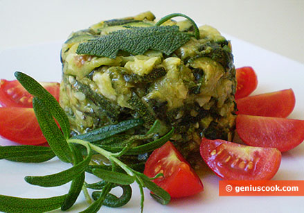 Zucchini with Garlic and Parsley